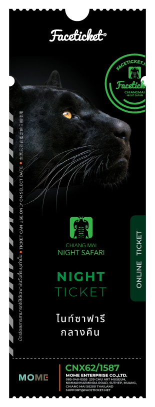 Night Safari Ticket Ticket