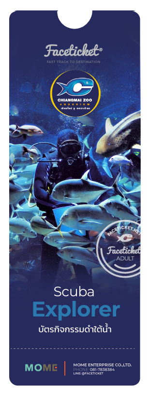 บัตรกิจกรรมสำรวจโลกใต้น้ำ Scuba Explorer Ticket