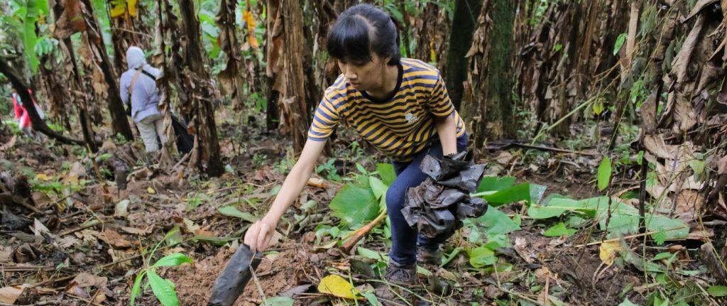 ดูแลรักษาธรรมชาติบริเวณไฟล์ท ออฟ เดอะ กิบบอน